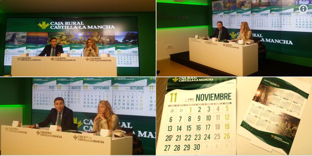 Presentación Calendario 2017 caja rural Castilla la Mancha